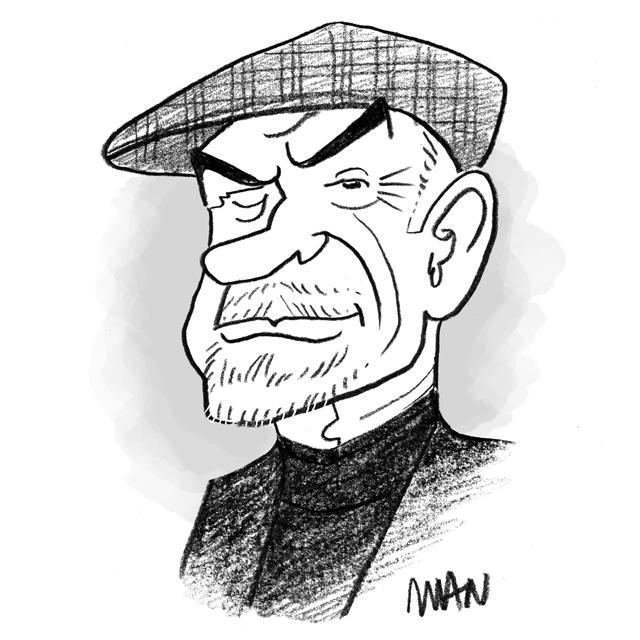 Caricature : Connery Sean