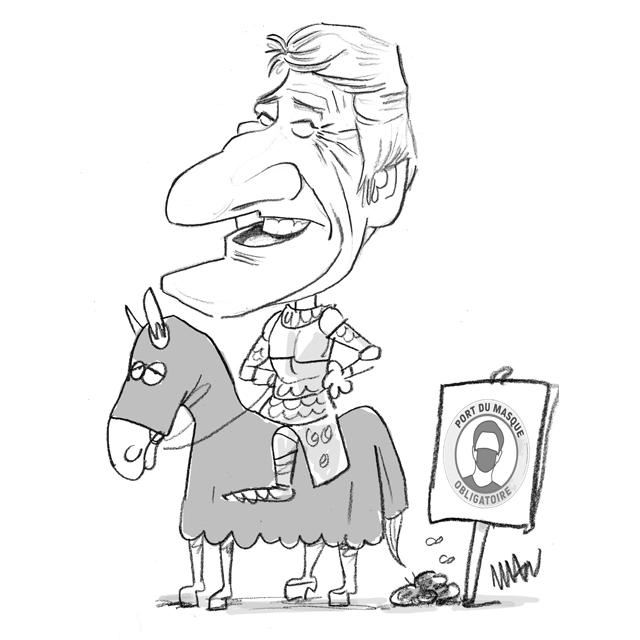 Caricature : De Villiers Ph.