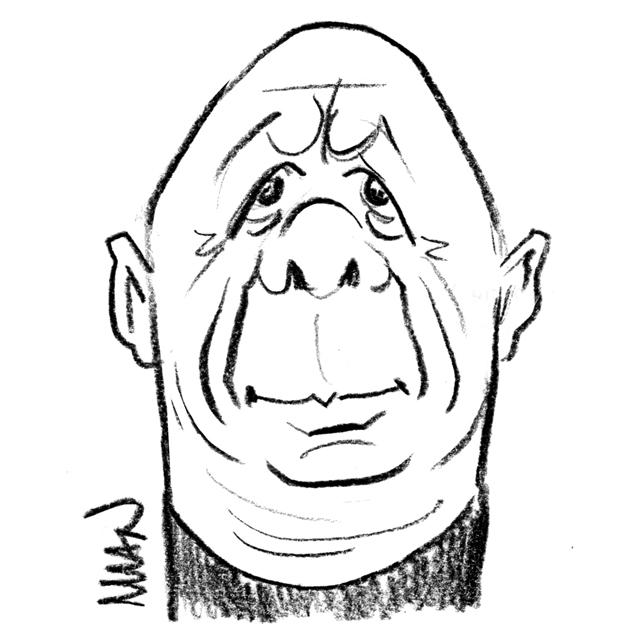 Caricature : Marx Thierry