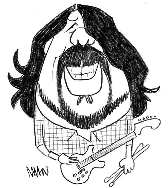 Caricature : Grohl 2