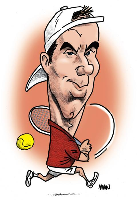 Caricature : Gasquet Richard