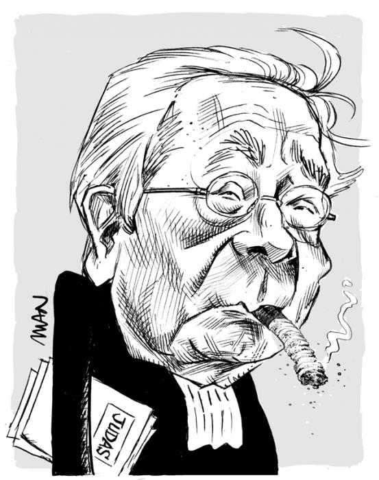 Caricature : Vergès Jacques