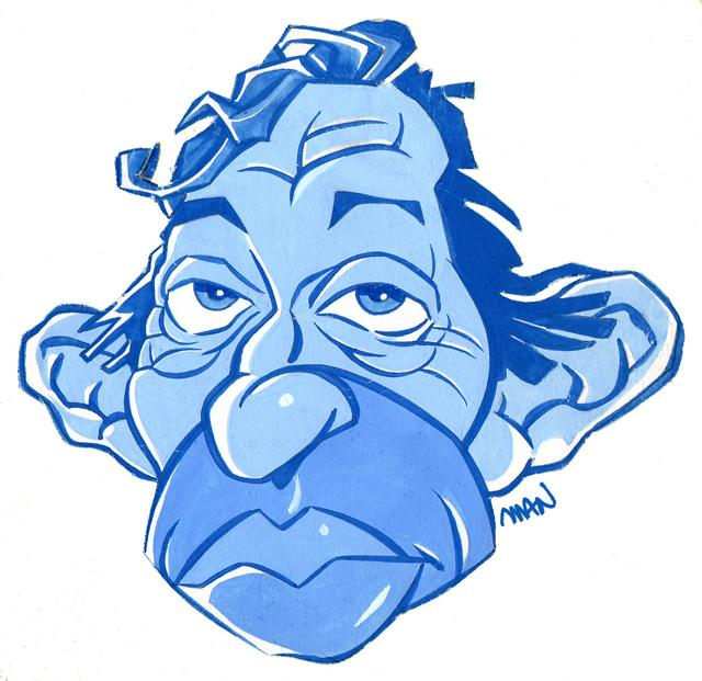 Caricature : Gainsbourg Serge