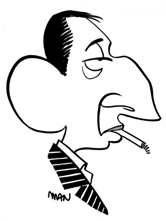 Caricature : Gainsbourg Serge 2