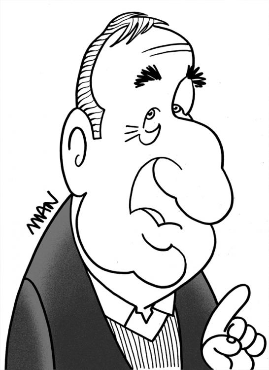 Caricature : Roux Guy
