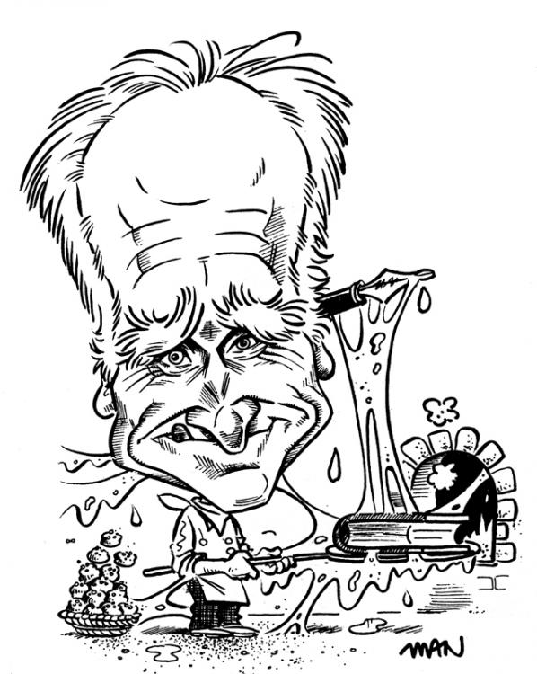 Caricature : Serres Michel