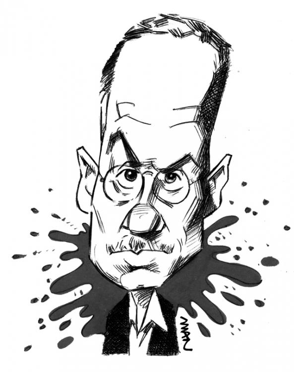 Caricature : Ellroy James