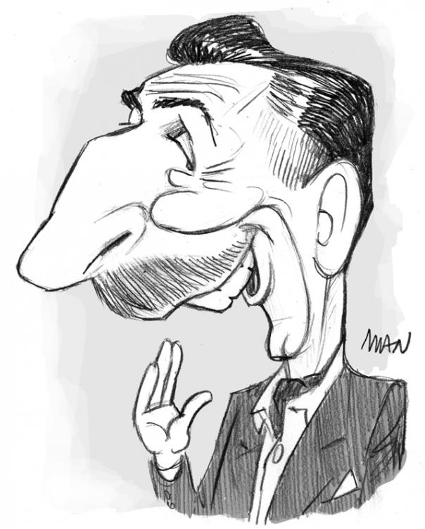 Caricature : Disney Walt