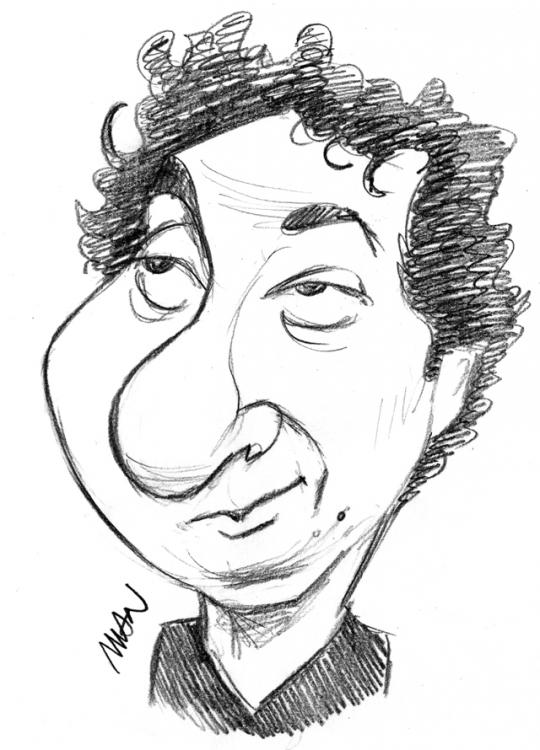 Caricature : Gallienne Guillaume