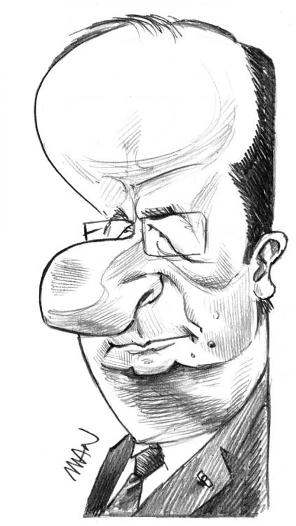 Caricature : Hollande F.2