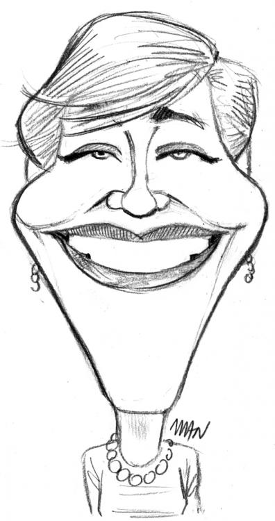 Caricature : Andrews Julie