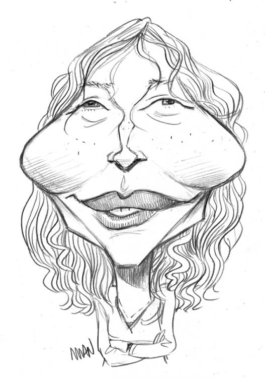 Caricature : Farrow Mia
