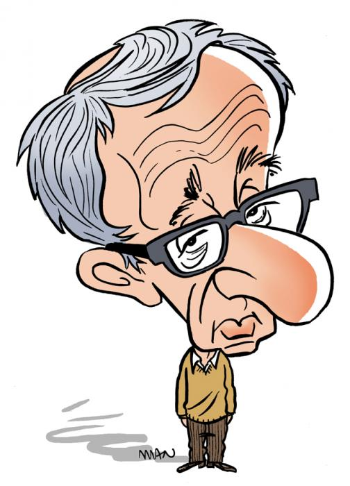 Caricature : Allen Woody