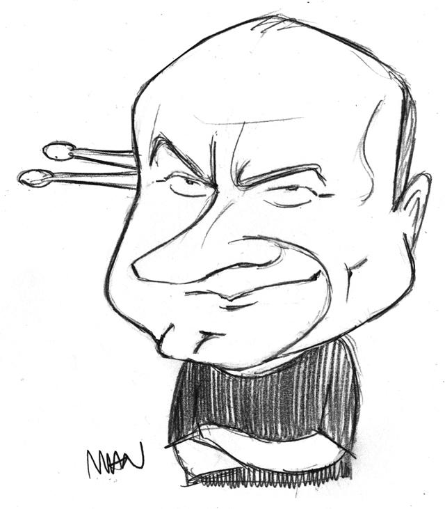 Caricature : Collins Phil