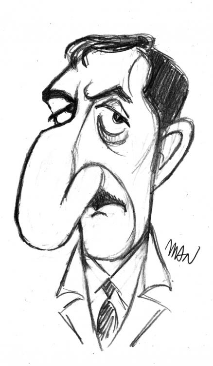 Caricature : Sellers Peter