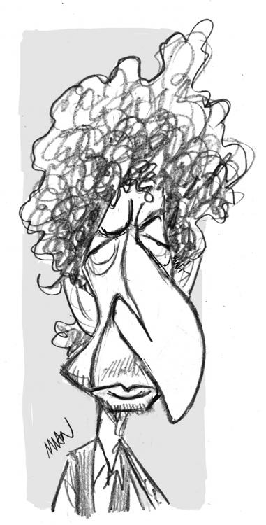 Caricature : Dylan 2