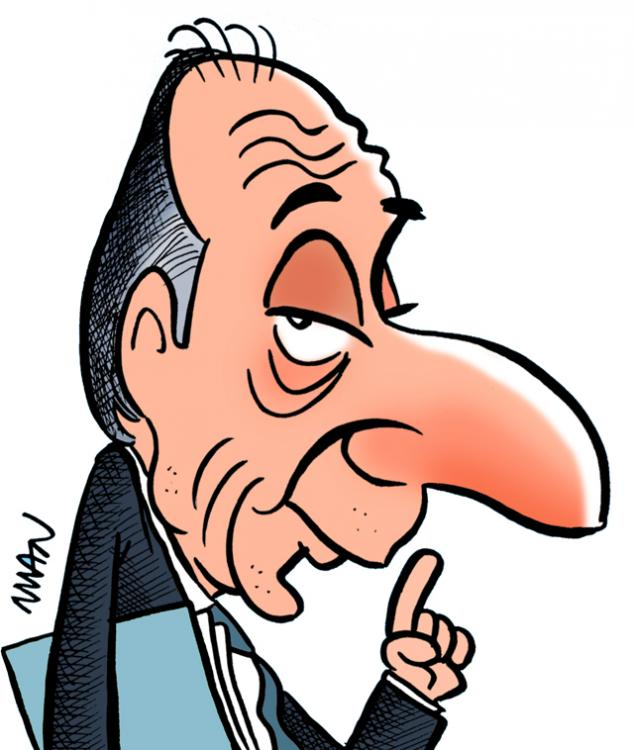 Caricature : Rocard Michel
