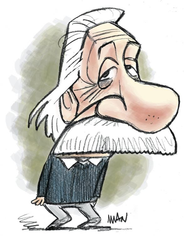 Caricature : Einstein Albert