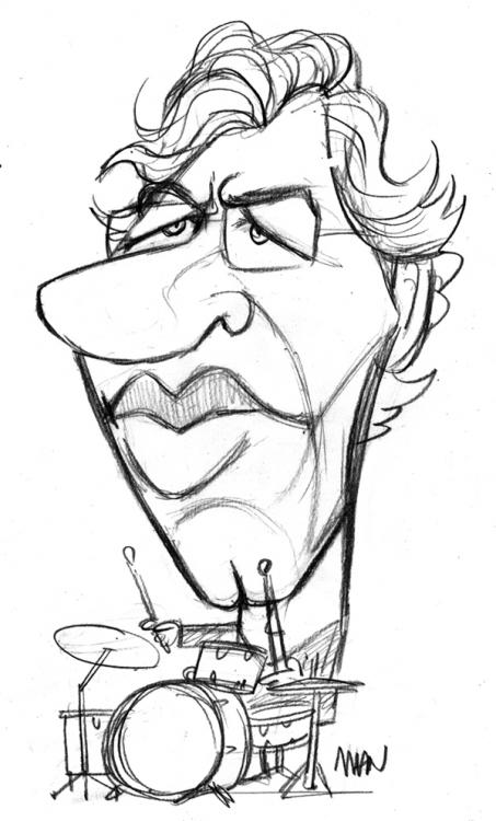 Caricature : Bruford Bill