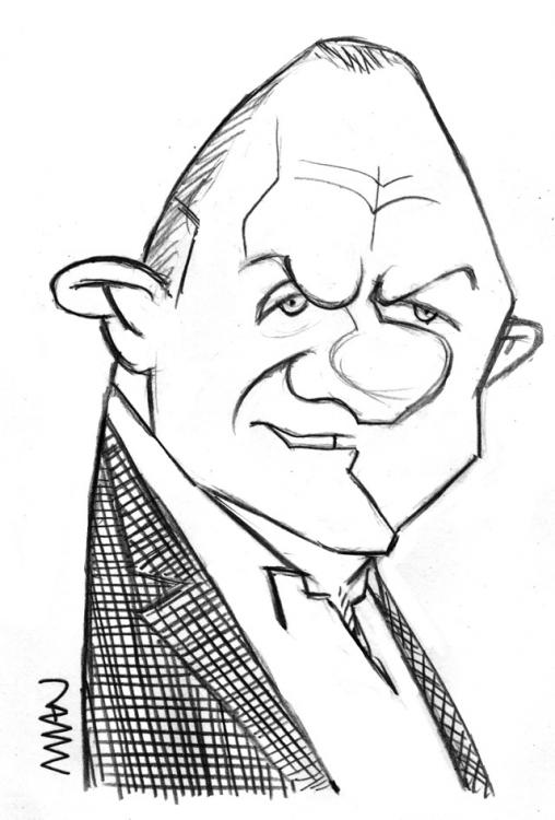 Caricature : Hopkins Anthony