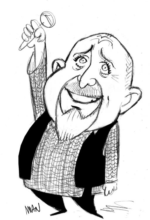 Caricature : Gabriel Peter