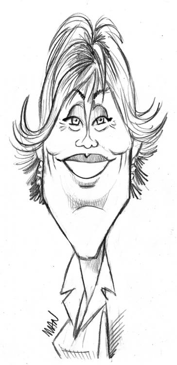 Caricature : Fonda Jane