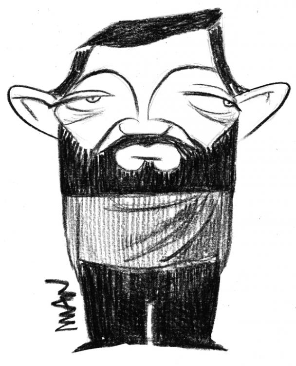 Caricature : Cortazar Julio
