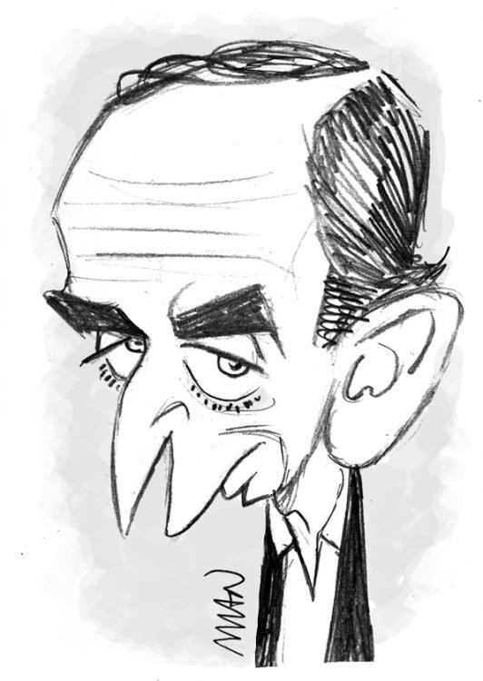 Caricature : Zemmour