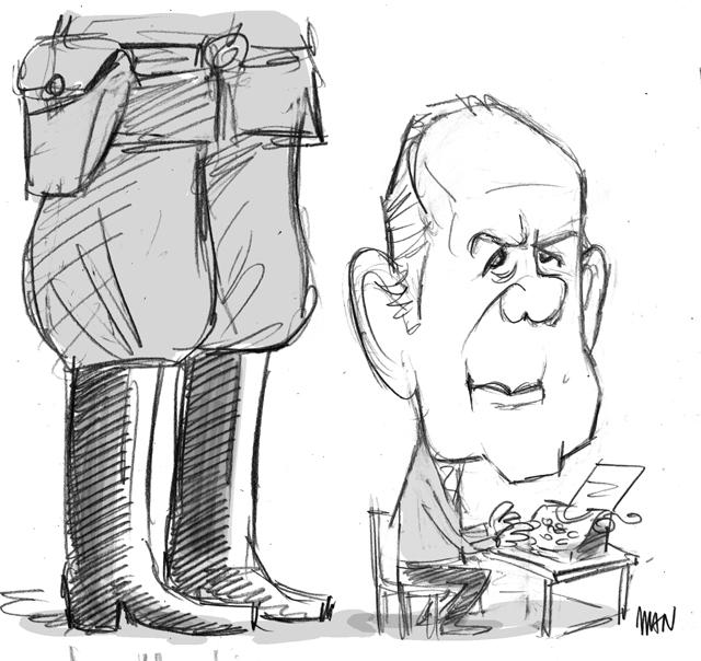 Caricature : Modiano Patrick