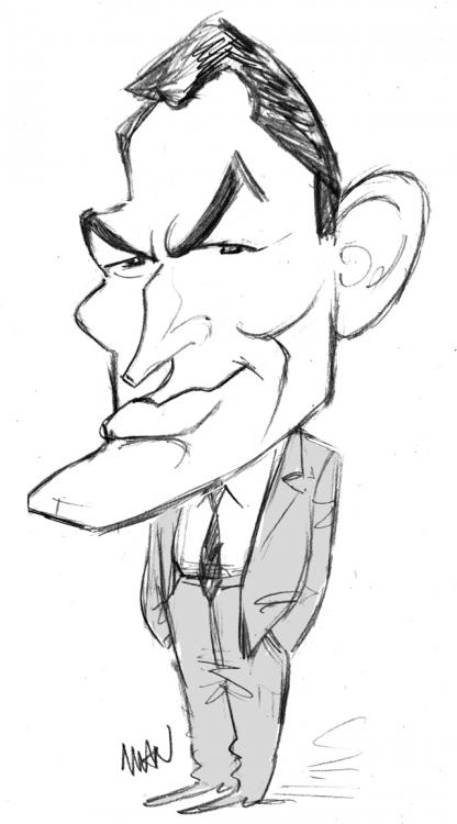 Caricature : Peck Gregory