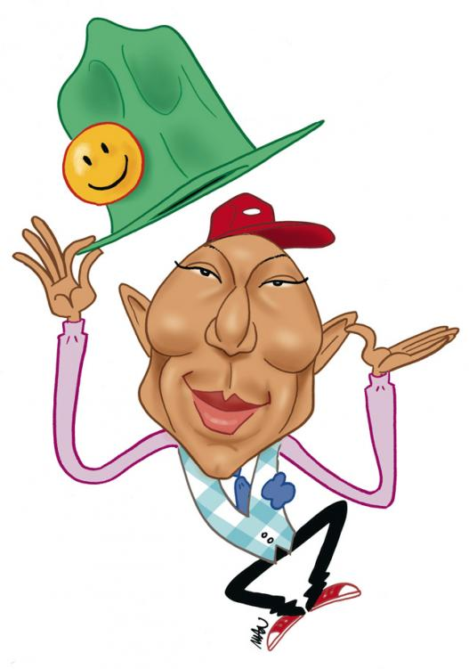 Caricature : Williams Pharell