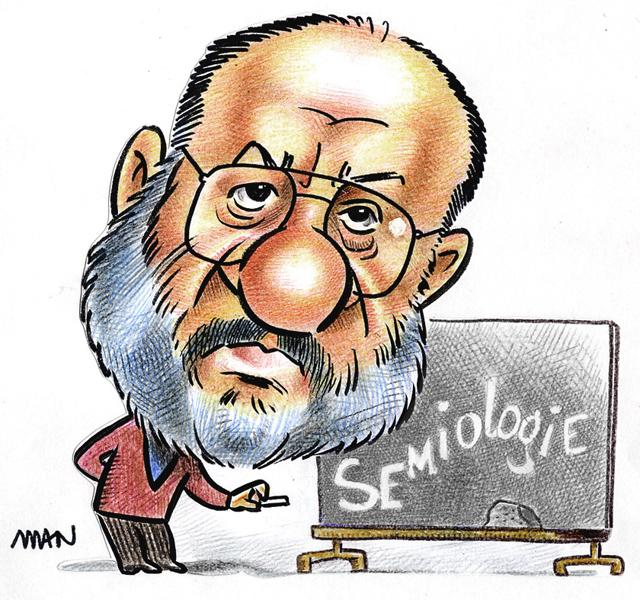 Caricature : Eco Umberto