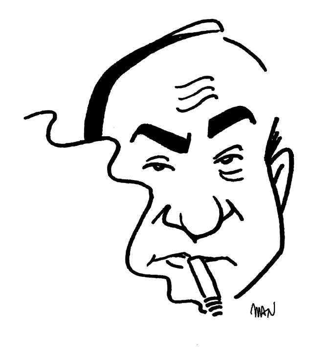 Caricature : Fargue Léon-Paul
