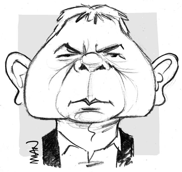 Caricature : Lepaon Thierry