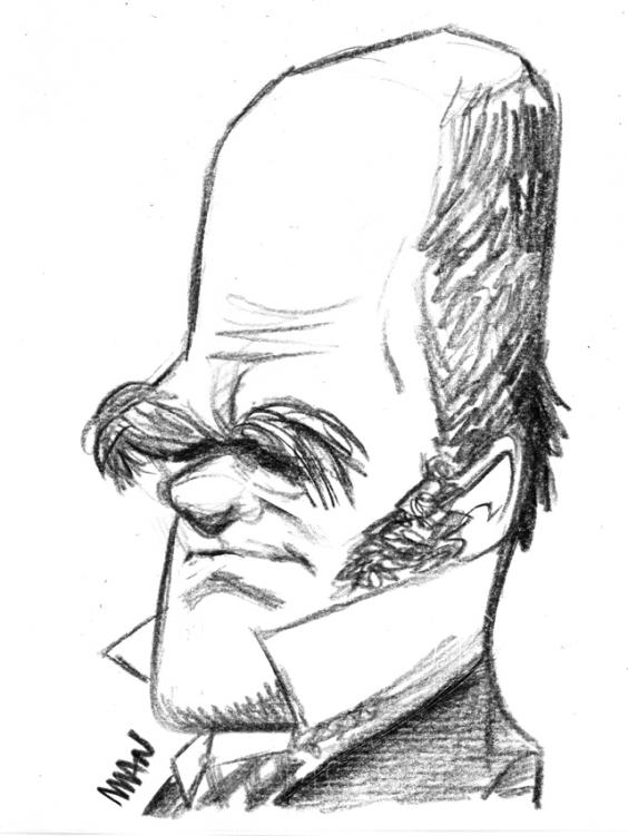 Caricature : Darwin(young)