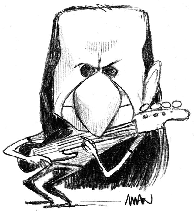 Caricature : Lee Geddy