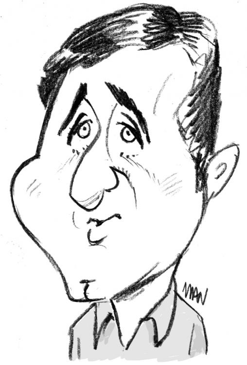 Caricature : Anthony Richard