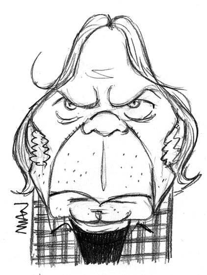 Caricature : Young Neil