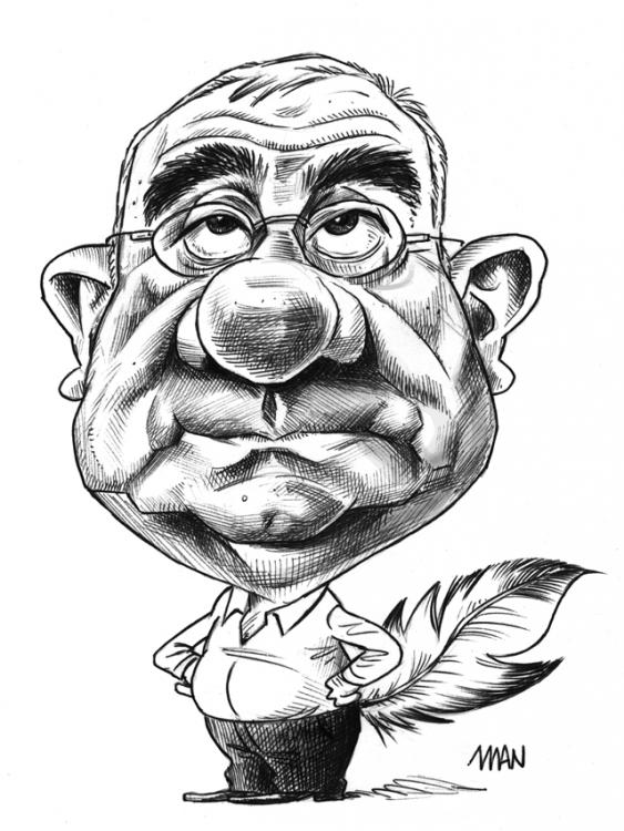Caricature : Tilliers Jacques