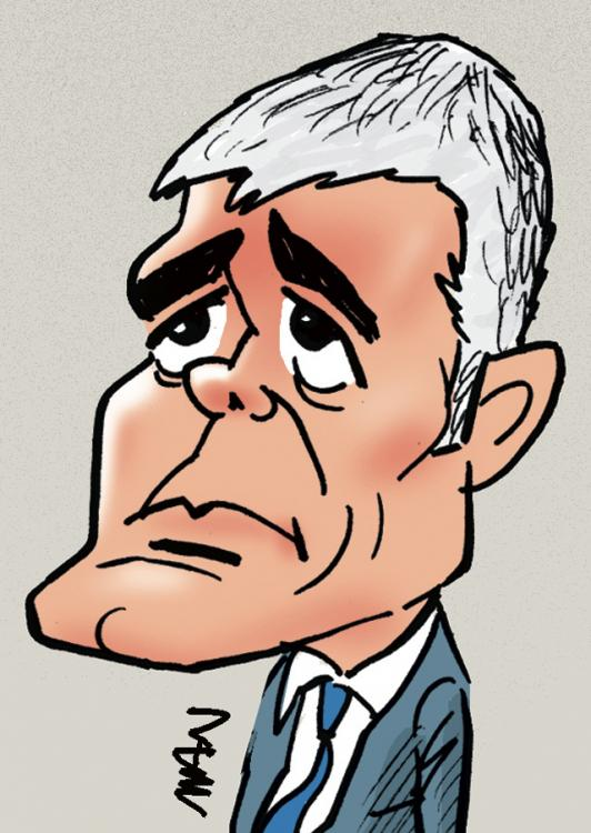 Caricature : Wauquiez Laurent