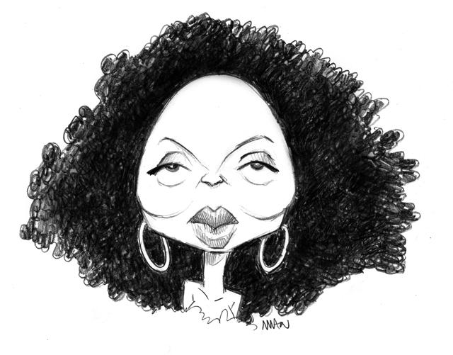 Caricature : Ross Diana