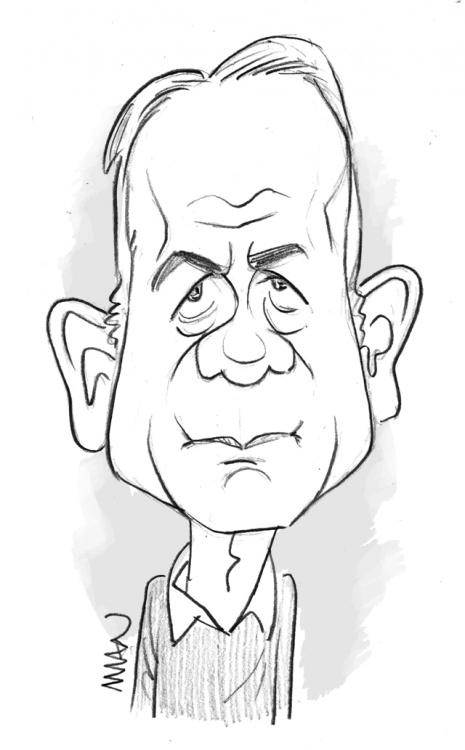 Caricature : Modiano2