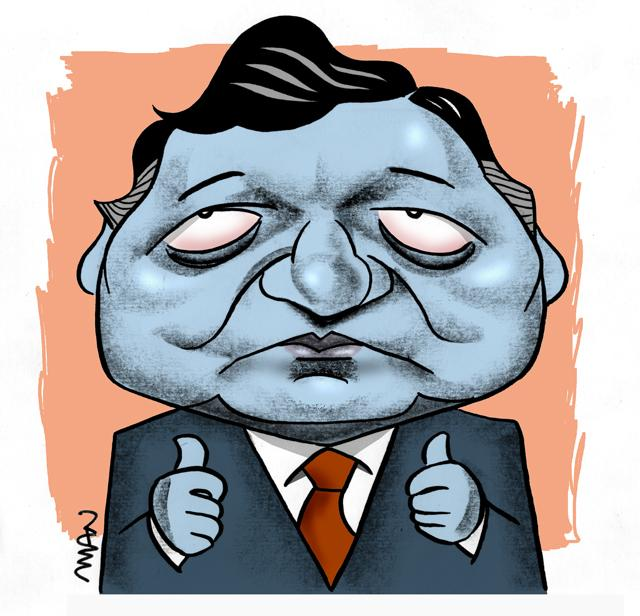 Caricature : Barroso JM