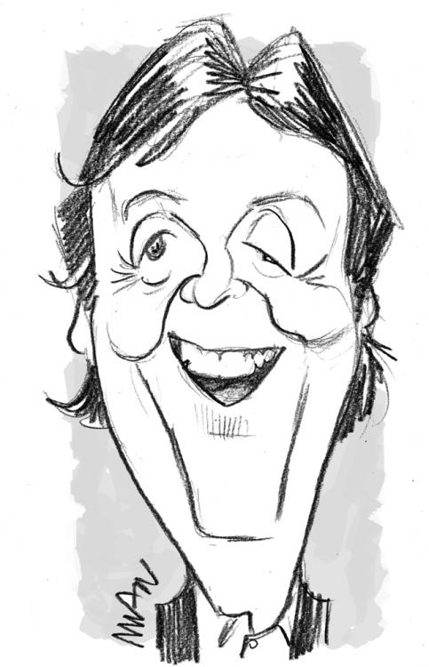 Caricature : MacCartney 2