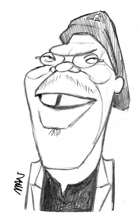 Caricature : Jackson Sam. 2