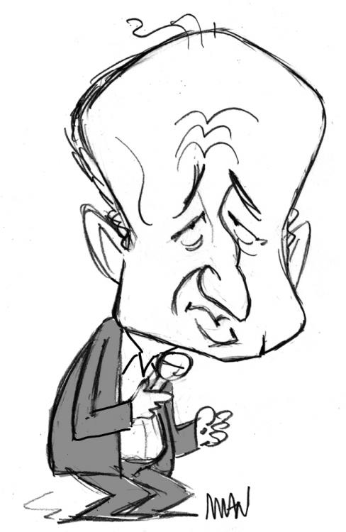 Caricature : Jonasz Michel