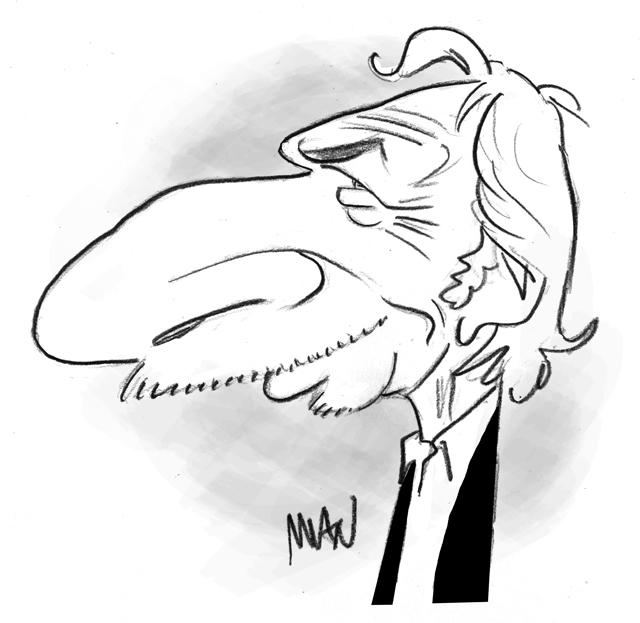 Caricature : Richard Pierre