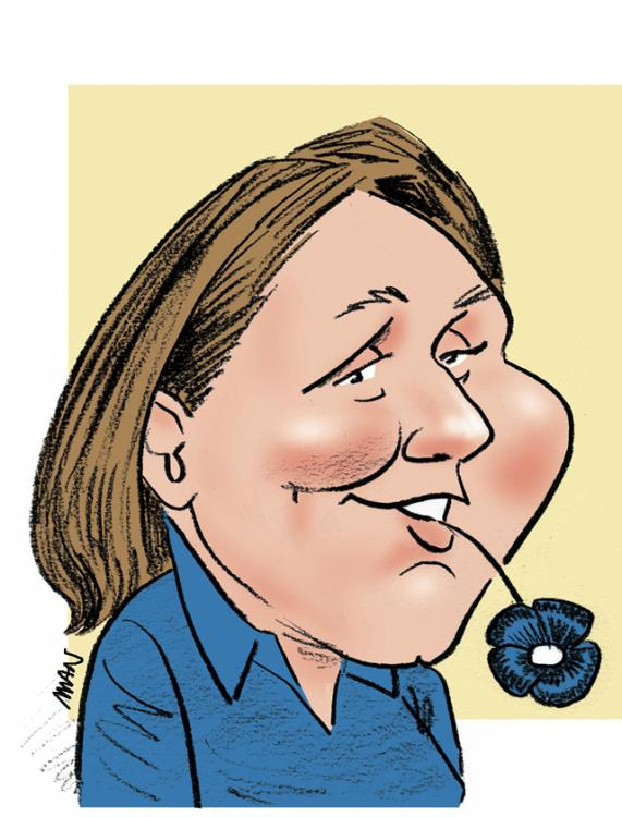 Caricature : Mignot Gaëlle