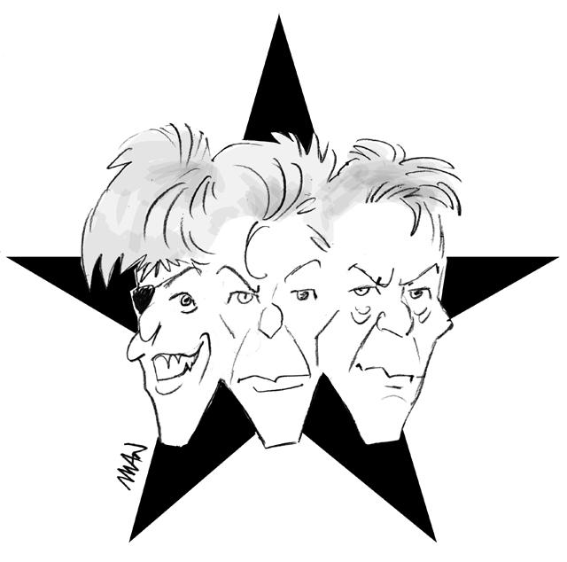 Caricature : Bowie 2