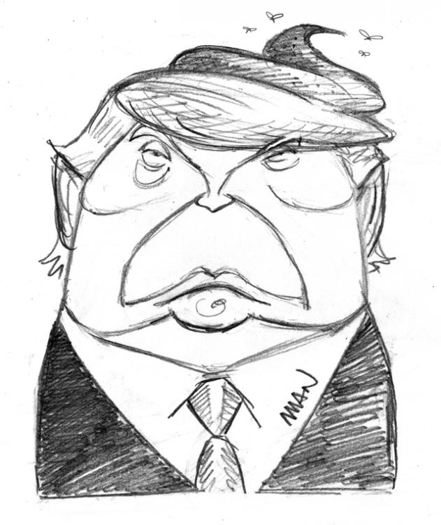 Caricature : Trump Donald
